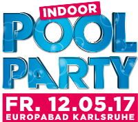 Indoor Pool Party Mobile Logo